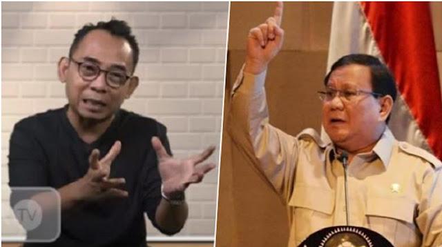 Gerindra Sentil Eko Kuntadhi, Gara-gara 'Ngomongin' Prabowo