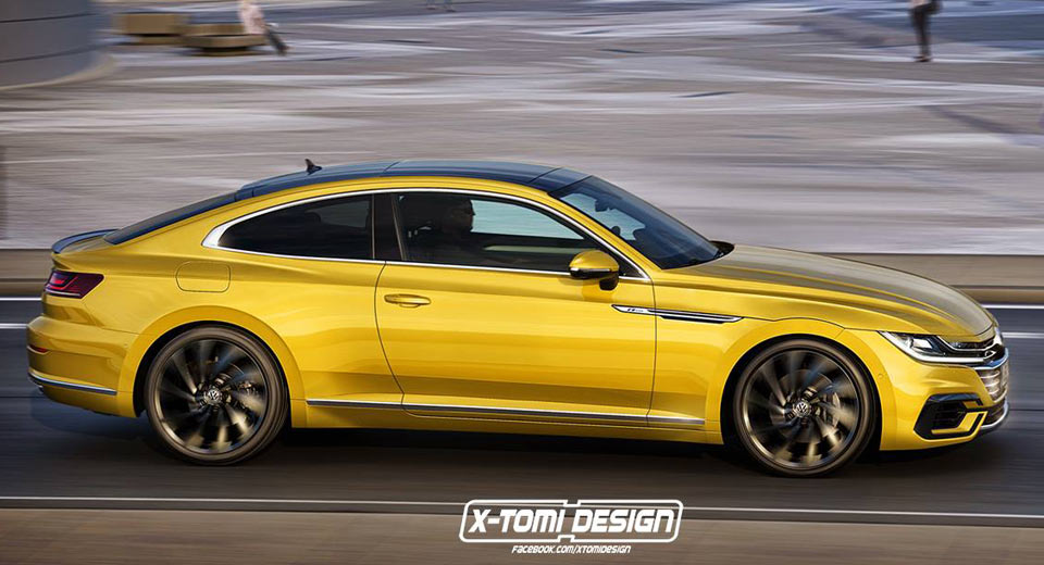 Vw Arteon Coupe Would Make Enticing Alternative To An Audi A5