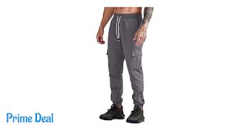 Men's Basic Jogger Pants 50% off