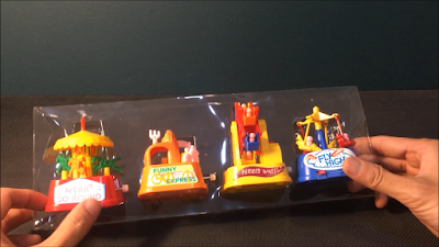 1980s Old Day Retro Clock Work Toys 2