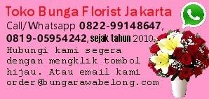 Toko Bunga Jakarta dan Florist Rawa Belong Adalah Flower Delivery Service Online