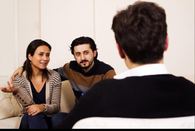 terapia de pareja, orientación y consejería.