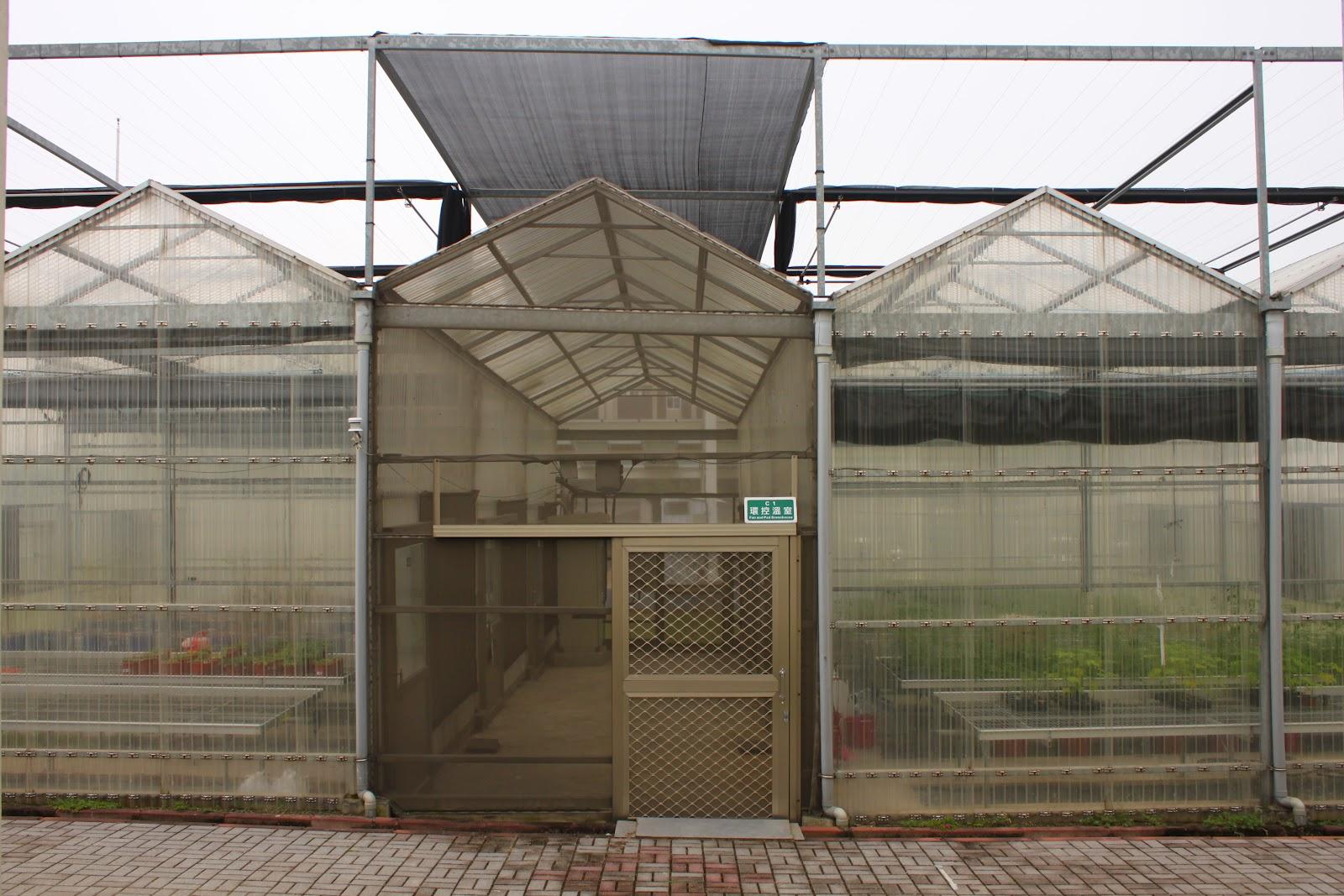 Estudiando agricultura en taiw n estructura de un invernadero for Estructura vivero