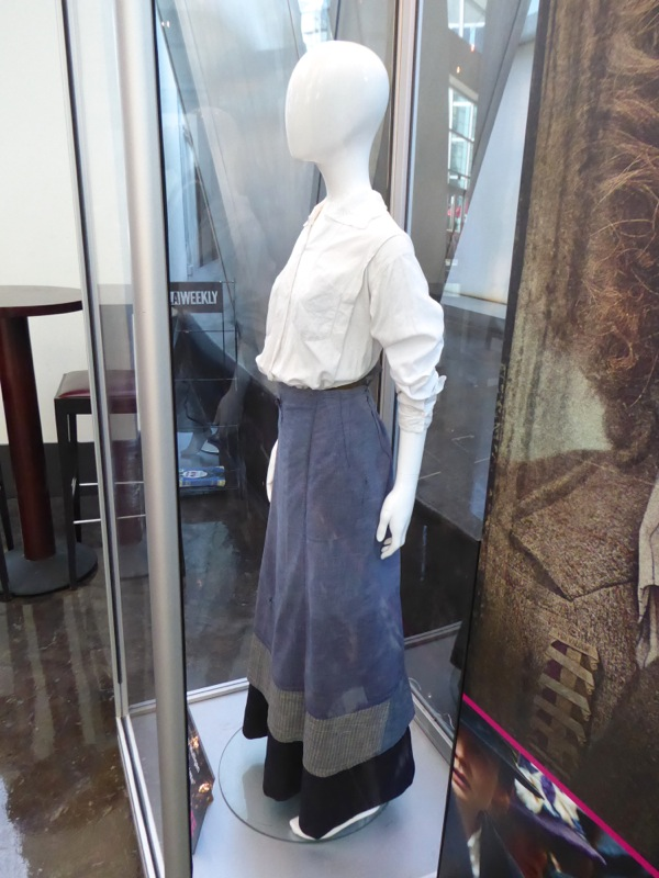 Carey Mulligan Suffragette costume