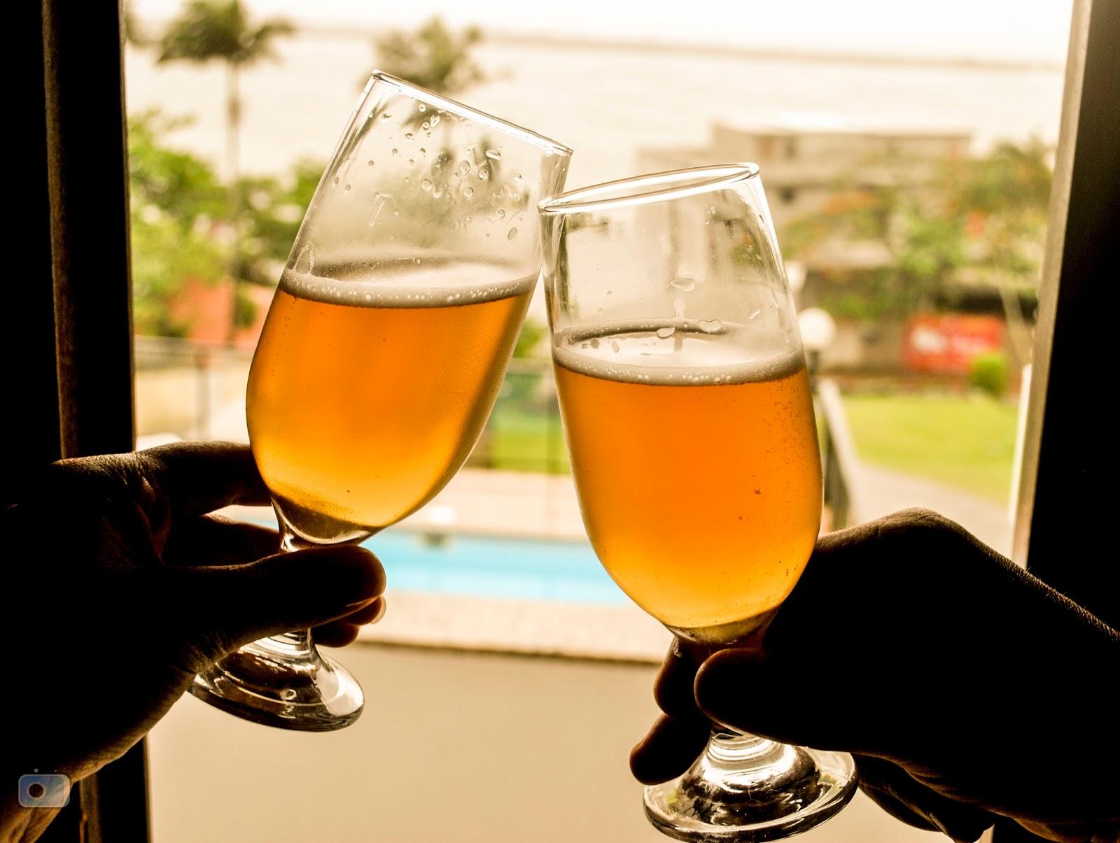 Um brinde em Itajaí