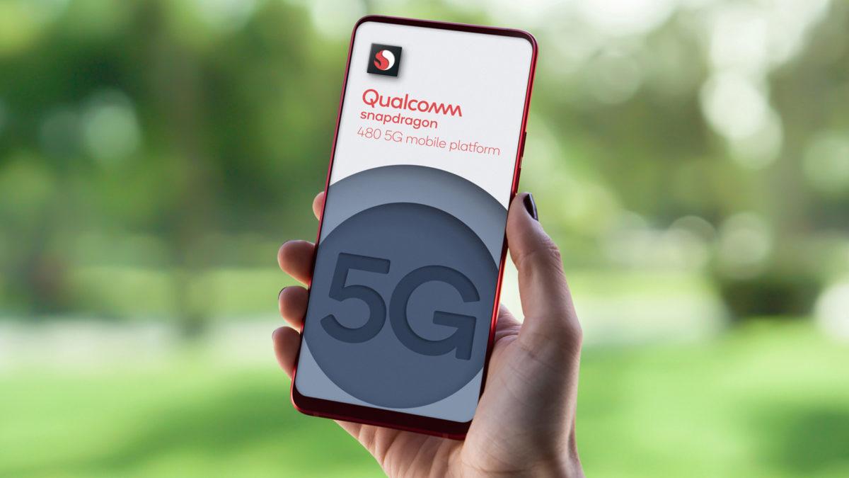Smartphone 5G a 100 euro grazie al nuovo Snapdragon 480