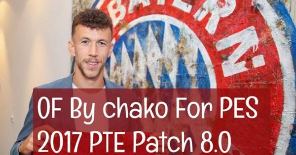 PES 2017 Option File For PTE Patch 8 0 #08-09-2019