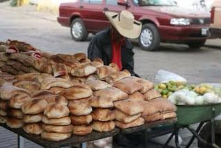 El señor que vende pan