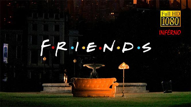 Friends BDRip 1080p Español Latino-Inglés (Serie Completa)
