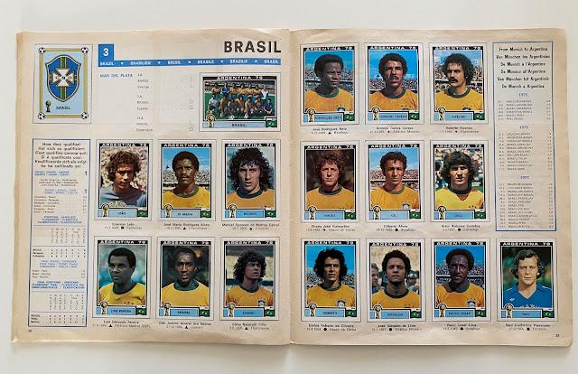 figurine brasile argentina 78