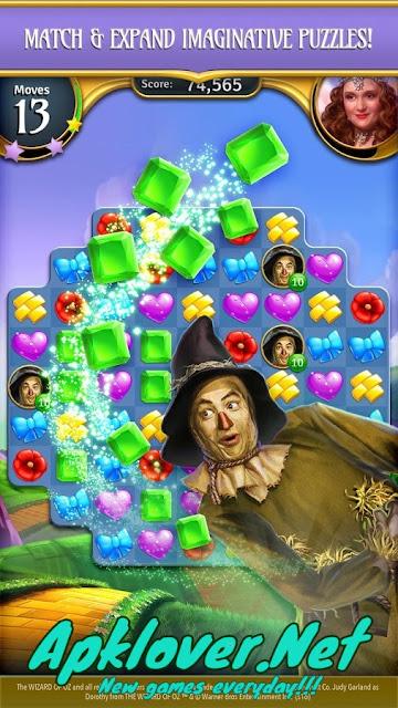 Wizard of Oz: Magic Match MOD APK
