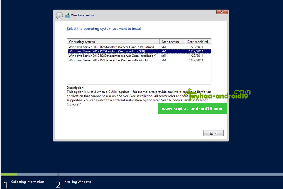 Windows Server 2012 Terbaru