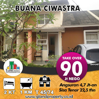Take Over 90 Juta Rumah Buana Ciwastra Kodya Bandung