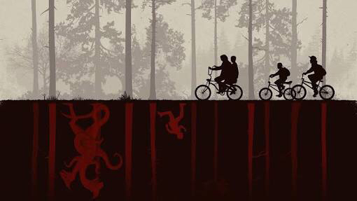 Stranger Things, Poster, Wallpaper