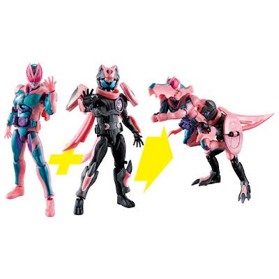 Revice Remix Figure - Kamen Rider Revi & Kamen Rider Vice Rex Genome Set