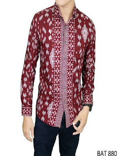 baju batik pria artis