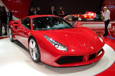 wallpaper Ferrari 488GTB