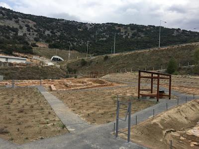 Εγκαινιάζεται ο αρχαιολογικός χώρος που αποκαλύφθηκε στην Κοιλάδα Τεμπών