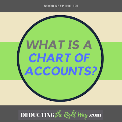 Chart of Accounts Definition | www.deductingtherightway.com
