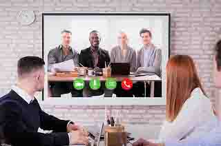 Teleconferencing Allows Workers From Around The World To || Video Conferencing Meaning Advantages And Disadvantages