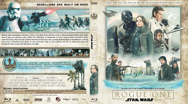 Rogue One A Star Wars Story Bluray Cover