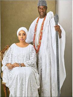 Ooni Of Ife, HIM Ogunwusi And Wife, Yeyeluwa Wuraola Gorgeous In New Photos