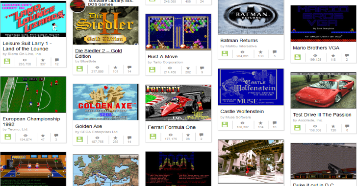 Play 2,500 MS-DOS Games On Your Web Browser For Free