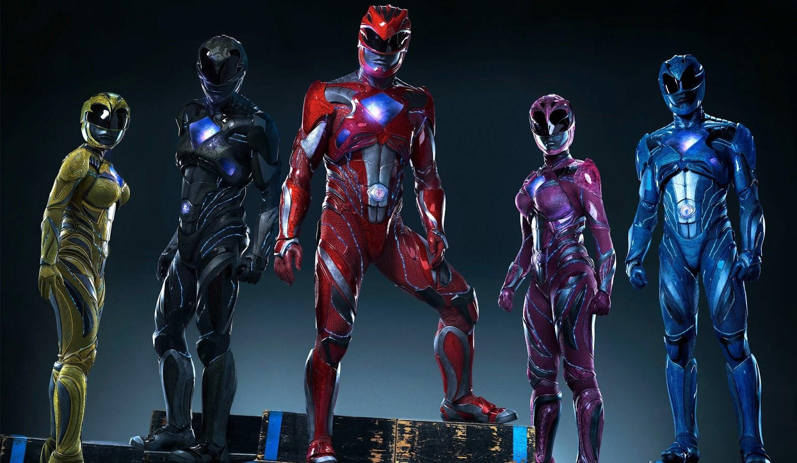 """Heróis descobrem seus poderes no 1º trailer de """"Power Rangers: O Filme"""""""