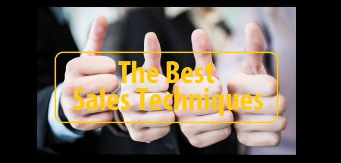 The best sales techniques
