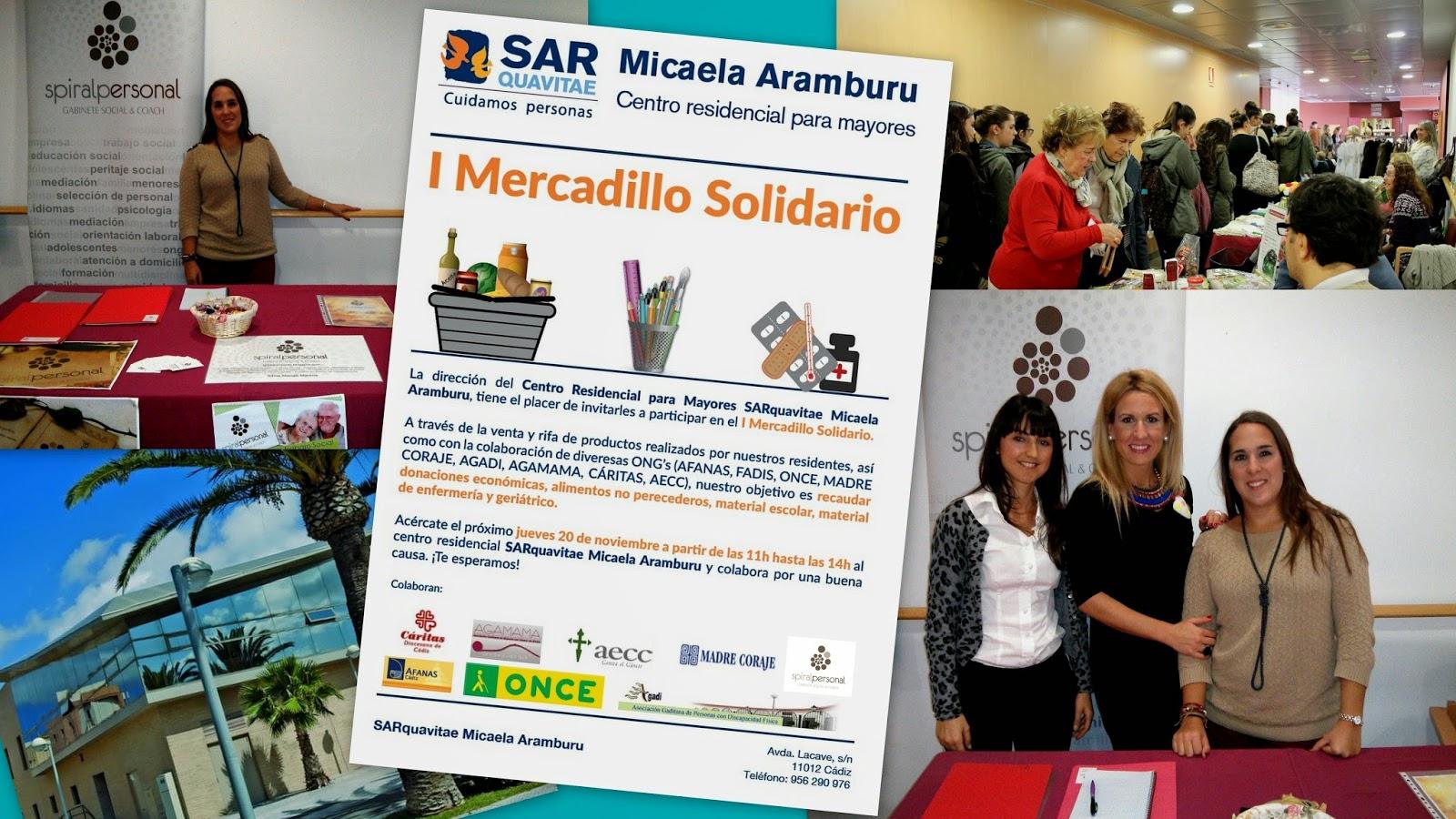 Spiral Personal en el I Mercadillo Solidario de Micaela Aramburu