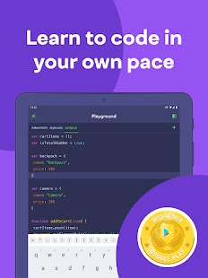 Top 5 Best Apps to Learn Javascript