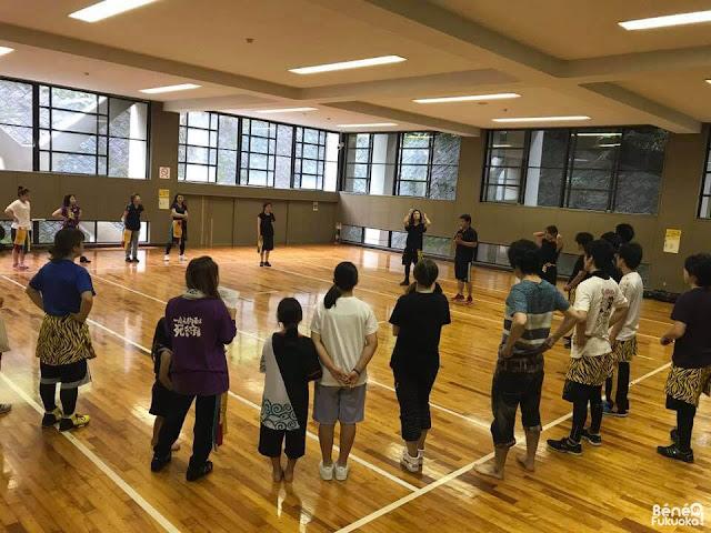 福岡のよさこいチーム「流」(ながれ)