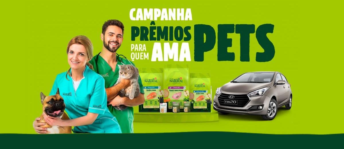 Promoção Guabi Natural Amo Pets