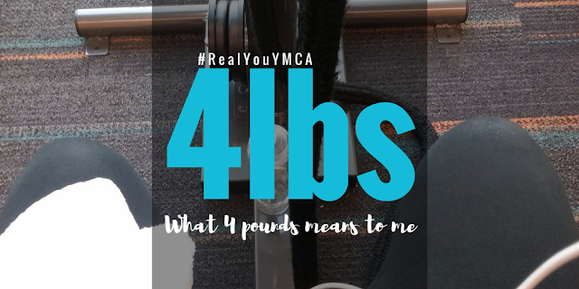 What 4 pounds means to me #RealYouYMCA #FattoFitinCLE