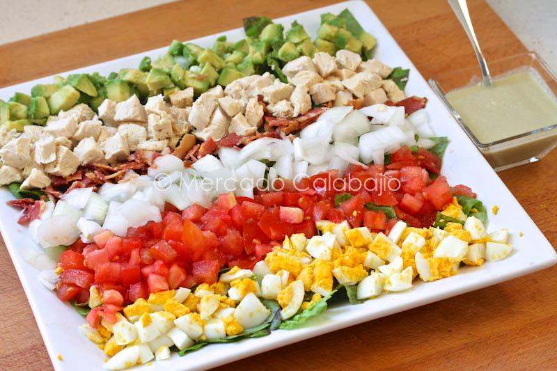Cobb Salad Una Ensalada Original Para El Verano Receta