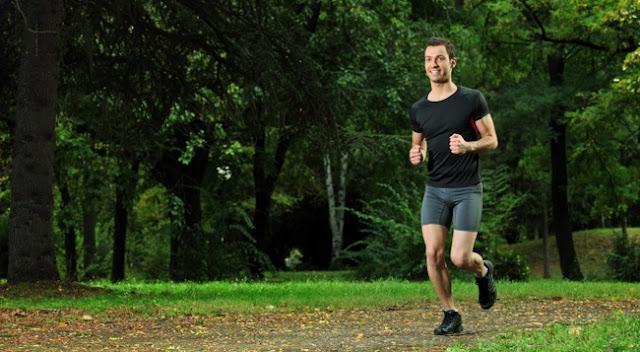 melakukan jogging sebelum mendaki gunung