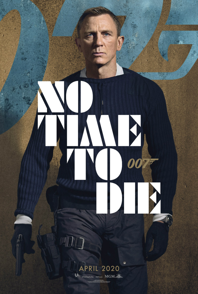 no time to die poster daniel craig
