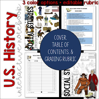 https://www.teacherspayteachers.com/Product/USAmerican-History-Interactive-Notebook-Cover-Rubric-Table-of-Contents-3307406