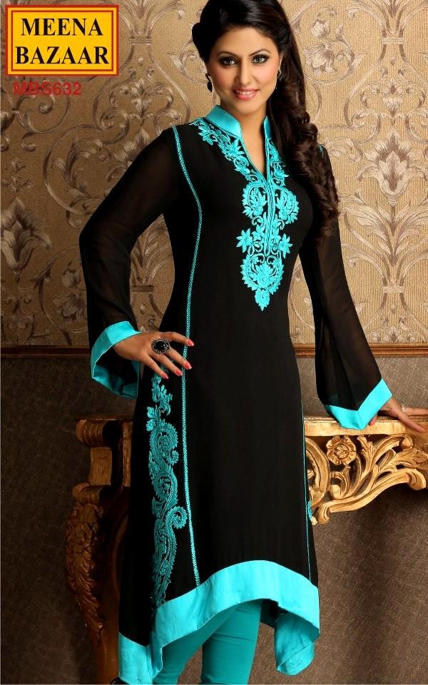 Indian Wedding Dresses 2013 Meena Bazaar New Collection