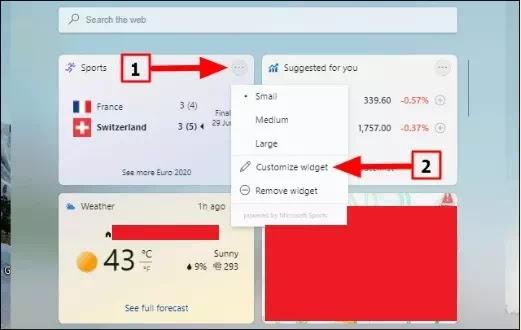Cara Menambah & Menghapus Widget di Windows 11-6