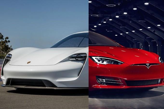 Comparativa Porsche Taycan vs Tesla Model S