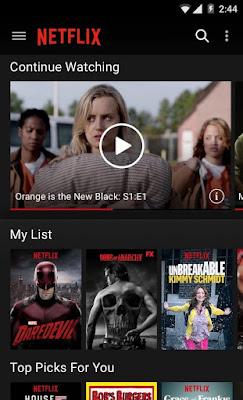 تطبيق Netflix كامل للأندرويد, تطبيق Netflix مدفوع للاندرويد