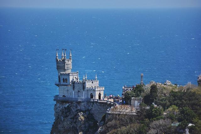 что посмотреть в Крыму - Ласточкино гнездо