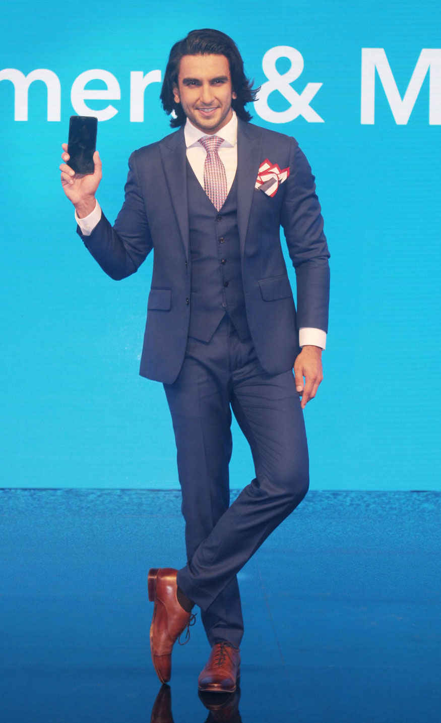 Ranveer Singh at The Launch of Vivo Flagship Device at Stage 3, Mehboob Studio