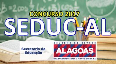 Concurso Educação-AL 2017