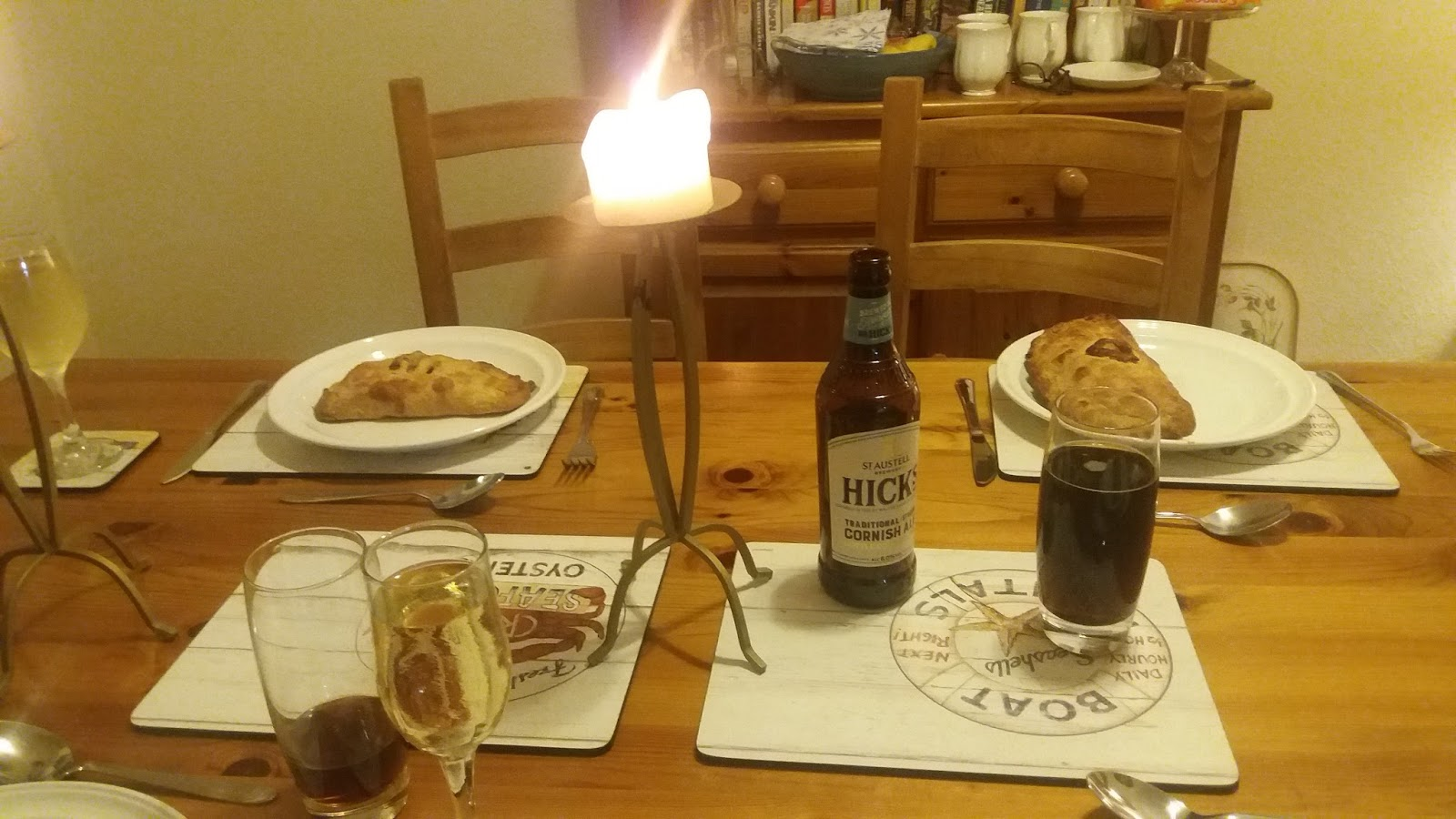 Dinner with Zelda Manners: A meal for ROSS POLDARK