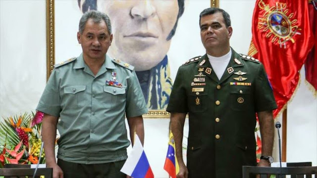 Ministro ruso de Defensa reitera apoyo a Venezuela frente a EEUU
