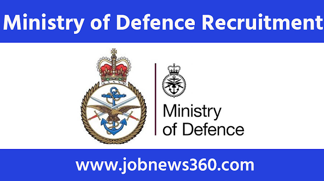 Ministry of Defence Recruitment 2020 for Steno, Cook, Painter, Carpenter, Tradesman, Tailor