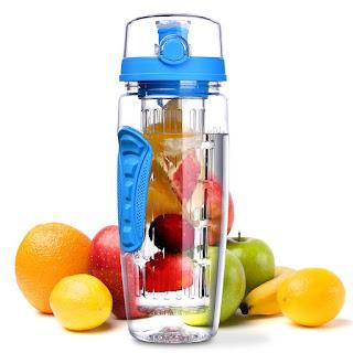 Prueba Botella con infusor de frutas