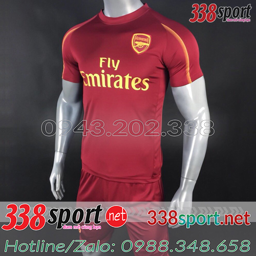 Áo Arsenal Đỏ 2018 2019 Training 3
